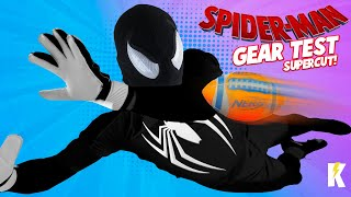 SPIDER-MAN GEAR Test & Kids Games SuperCut! | KIDCITY