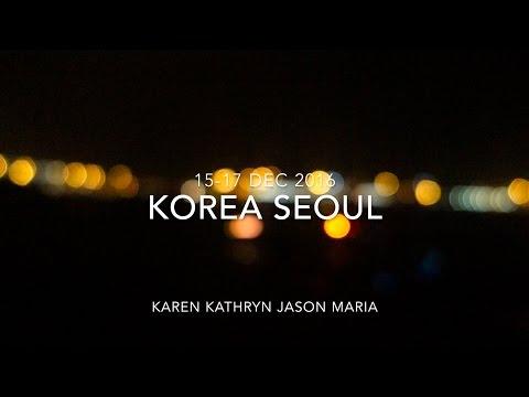 Seoul Korea Dec 2016