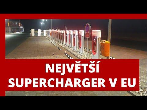 #242 Největší Tesla Supercharger v EU Oberhonnefeld Německo | Teslacek