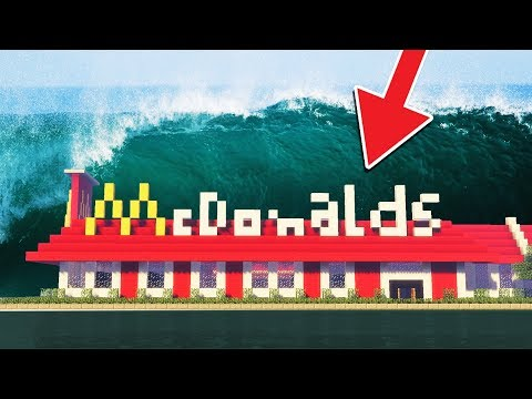 SAVING MCDONALDS FROM A TSUNAMI!