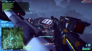 Planetside 2 - Sniper farm (80 Killstreak with redeploying) Part 1