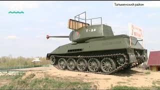 Аналог легендарного Т-34 своими руками сконструировал житель Алтайского края
