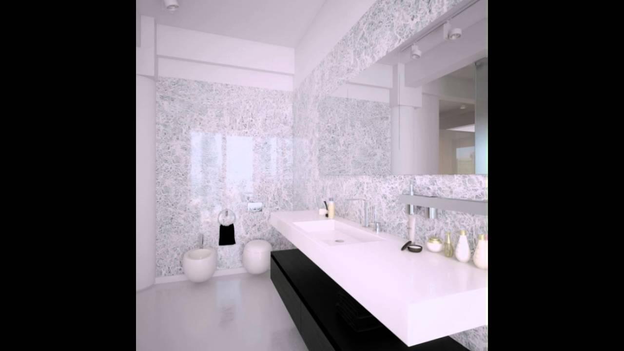 Schwarz Weiß Moderne Badezimmer Design