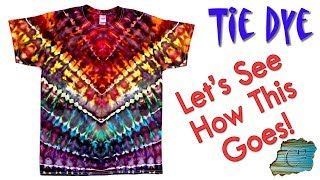 Tie Dye:  Let's See How This Goes [Ice Dye]