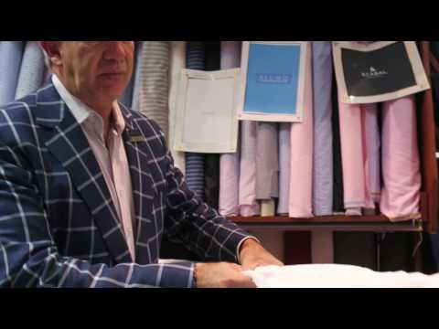 Jose Showing our New Cotton Shirting Fabrics