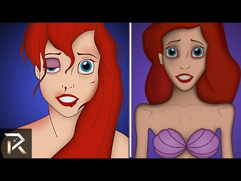 10 Disney Characters with Serious Mental Disorders