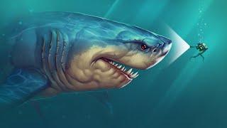 "|| FEED AND GROW FISH || ""Гигантская белая акула, Мегалодон!?!?"""