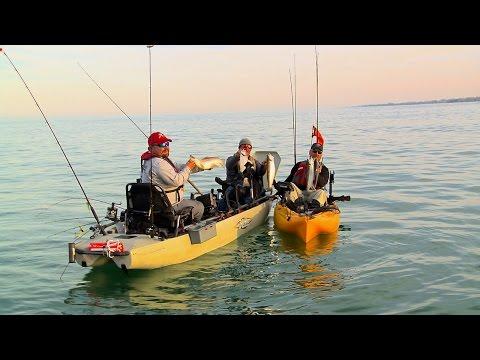 Kayak Fishing Salmon & Trout Lake Michigan