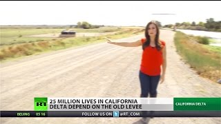 Close to danger: Poor infrastructure, old levees threaten residents near Cali. Delta