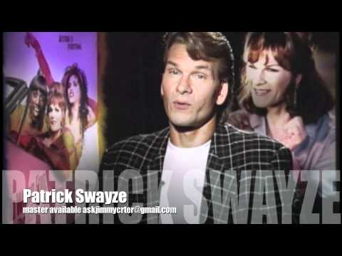 Patrick Swayze with Jimmy Carter talks about playing a woman!