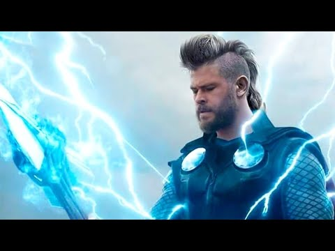 Role Of Thor In Avengers Endgame In Hindi | BlueIceBear