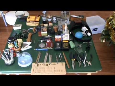 complete watch makers workshop tools for sale P1