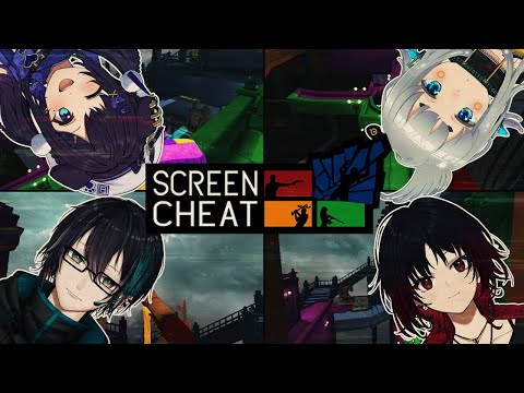【ScreenCheat】全員青【ぶいすぽ/如月れん】