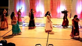 Canyon High School Indian Club 2015   Board Dance