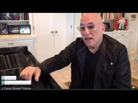 Mike Garson's David Bowie Tribute Live on Periscope - January 16, 2016