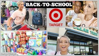 BACK TO SCHOOL SHOPPING & HAUL 2018 | DOLLAR TREE AND TARGET