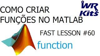COMO CRIAR FUNÇÕES NO MATLAB   Fast Lesson #60