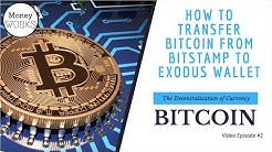 How to transfer crypto from Bitstamp to your Exodus Wallet