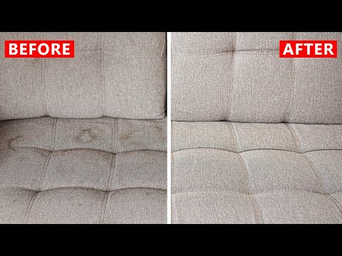 How to Clean Your Sofa at Home (Cheap Solution)