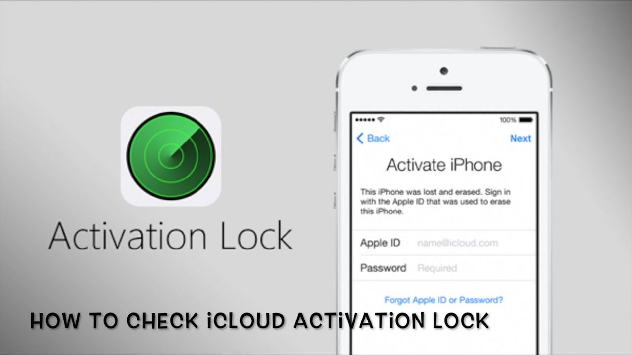 How To Check Icloud Activation Lock On Your Iphone Ipod And Ipad Khmer Xero  Youtube How