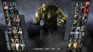 Injustice: Gods Among Us Arcade #6- Solomon Grundy