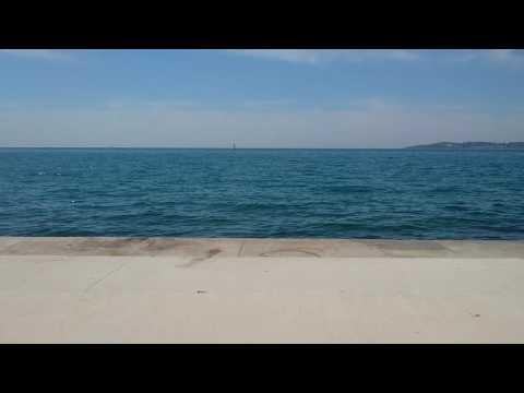 İstanbul beach in gürpınar - sea side