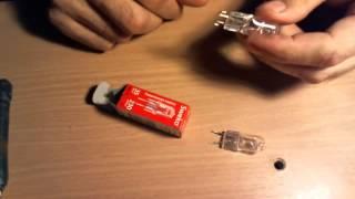 видео Капсульные лампочки с цоколем G9 и G4 купить