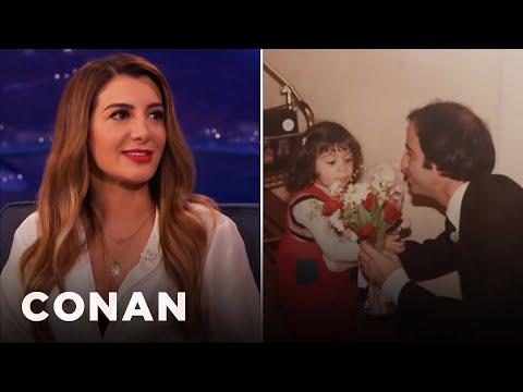 Nasim Pedrad's Immigration Experience   CONAN on TBS