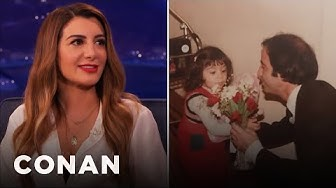 Nasim Pedrad's Immigration Experience  - CONAN on TBS