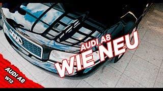 Aufbereitung und Abholung vom Audi A8 W12 - BBM Motorsport