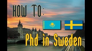 Как поступить на PhD в Швецию?