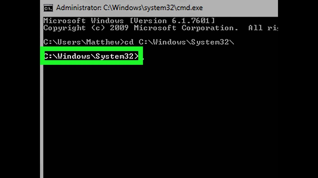 delete system32 by command prompt😃😎💥💔