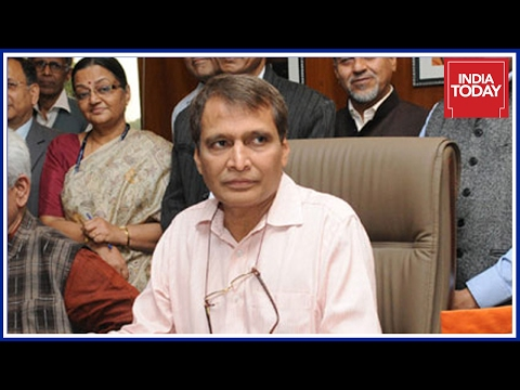 Railway Minister Suresh Prabhu Addresses The Media- Live