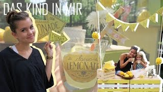Das Kind in mir - Lemonade Stand | au pair vlog # 27