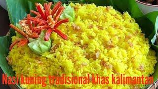 Resep nasi kuning tradisional khas kalimantan