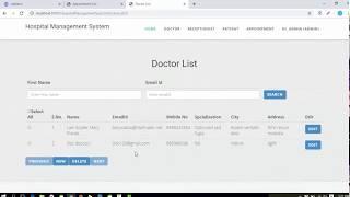 Hospital management project in java with source code using jsp, servlet, html and mysql. complete web https://codebun.com/hospi...