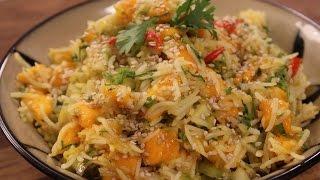 Mango, Cucumber And Rice Salad   Sanjeev Kapoor Khazana