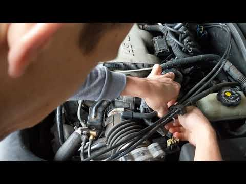 HOW TO REPLACE AN IDLE AIR CONTROL VALVE | ROUGH IDLE FIX | PONTIAC GRAND AM GT 1999 - 2005