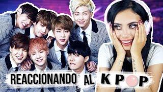 REACCIONANDO al K-POP por PRIMERA VEZ   Paulettee