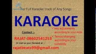 Meri Yaad Mein Tum Na Karaoke Track