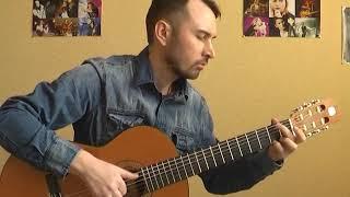 """""""Пробач"""" - С.Бабкин (соло кавер на гитаре В.Трощинков)"""