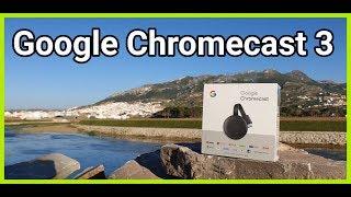 2019 New Google Chromecast 3 ✔ قم بتحويل تلفزيونك القديم الى جهاز متطور وشارك عليه أفلامك ومسلسلاتك