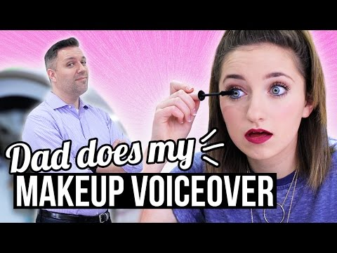 MY DAD DOES MY VOICEOVER | Bailey