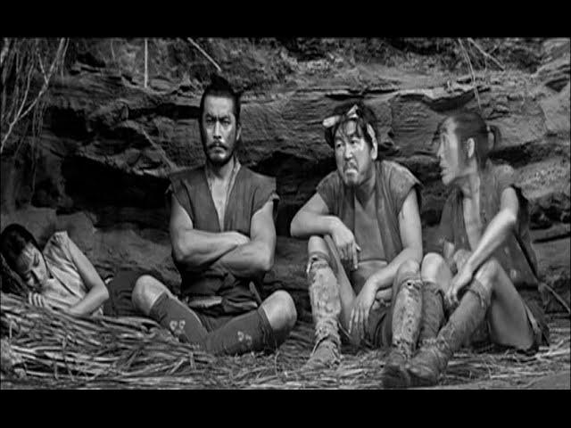 "Bande annonce: ""La Forteresse cachée"" d'Akira Kurosawa (Japon, 1958)"