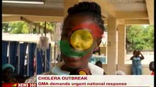 News 360 - Cholera Outbreak - GMA calls For Intensive Education - 21/8/2014