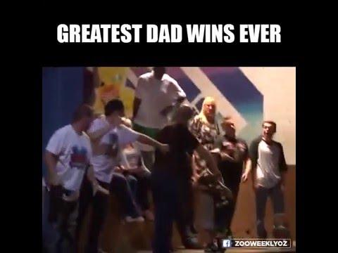 Aquele segundo em que o pai acerta