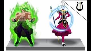 Opinión: Wiss contra Broly ¿Quien ganaria? (No Spoilers) - Dragon Ball Super
