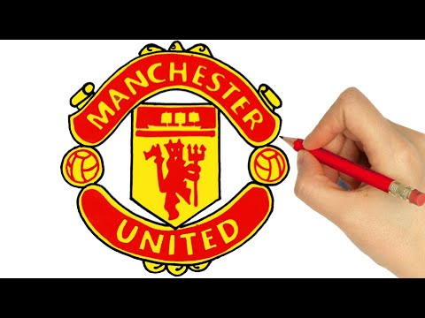 How to Draw the Manchester United Logo.