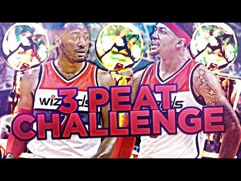 BUILDING A DYNASTY!?! 3 PEAT CHALLENGE!! NBA 2K17 MY LEAGUE
