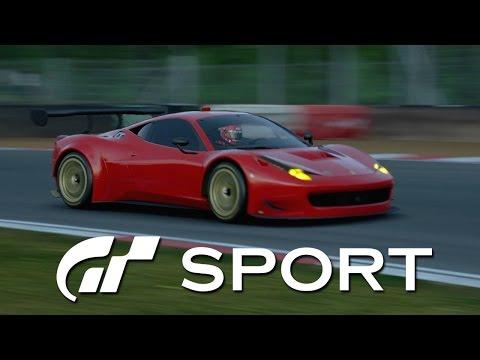 GT Sport Closed Beta -  Ferrari 458 Italia GT3 '13 @ Brands Hatch [1080p 60fps]
